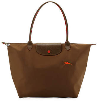 Longchamp Le Pliage Club Large Nylon Shoulder Tote Bag