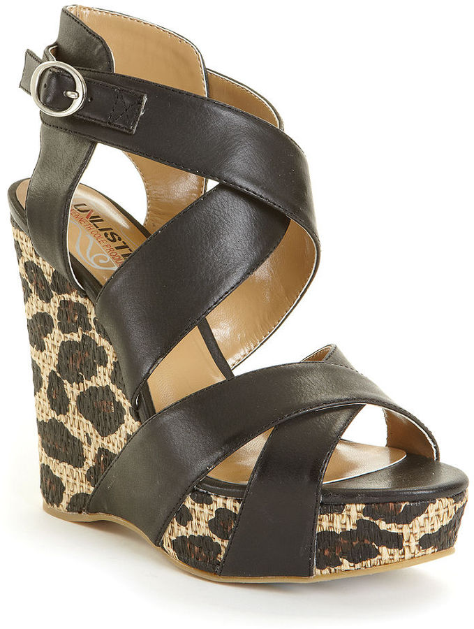 unlisted shoes bend the wedge sandals sold out