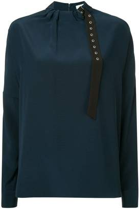 Tibi colour block dolman top