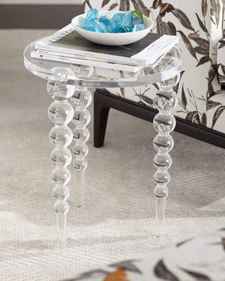 Ambella Katava Acrylic Side Table