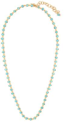 Irene Neuwirth Turquoise and yellow-gold necklace