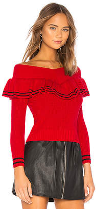 Lovers + Friends Ruffle Sweater