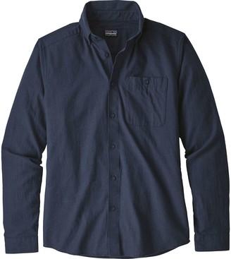 Patagonia Vjosa River Pima Long-Sleeve Cotton Shirt - Men's