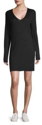 Zadig & Voltaire Nosfo Long-Sleeve Merino Wool Dress
