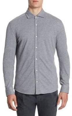 Brunello Cucinelli Leisure-Fit Button-Down Shirt