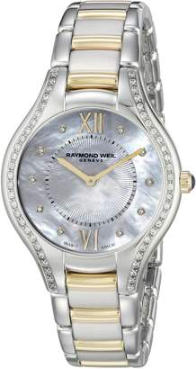 Raymond Weil Women's 5132-SPS-00985 Analog Display Swiss Quartz Two Tone Watch