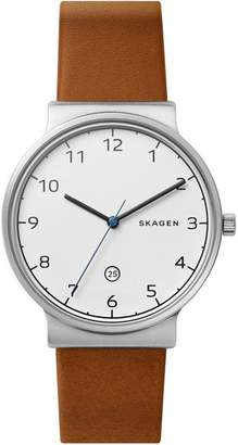Skagen Ancher Brown Watch SKW6433