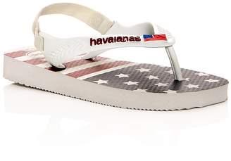 Havaianas Unisex Usa Flag Slingback Flip-Flops