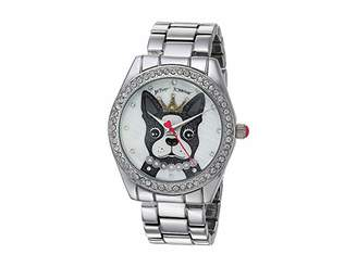 Betsey Johnson It's Ruff Out There Link Watch - 37259127SLV040