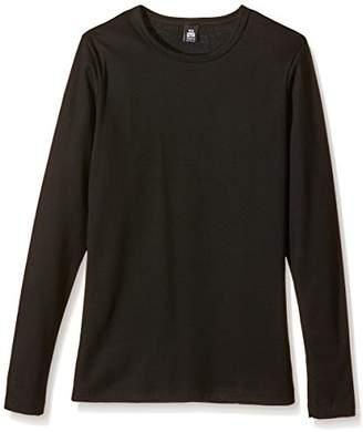 Trigema Unisex Long-Sleeved Top Black Schwarz (schwarz 008) 152