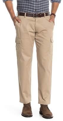 "Louis Raphael Straight Fit Comfort Khaki Pants - 30-34\"" Inseam"
