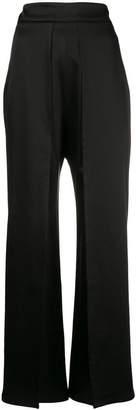 Sid Neigum pleat flared trousers