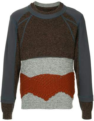 Craig Green crochet panel sweater