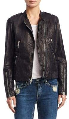 Rag & Bone Lyon Leather Jacket