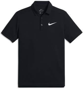 Nike NikeCourt Dri-FIT Big Kids' (Boys') Tennis Polo
