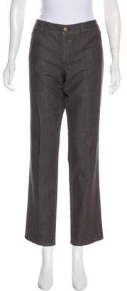 Lafayette 148 Mid-Rise Straight Jeans