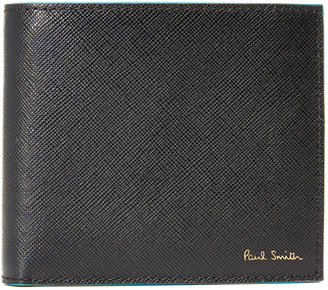 Paul Smith Saffiano Billfold Wallet $195 thestylecure.com