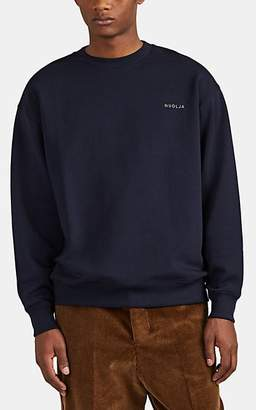 Acne Studios Men's Forba Sweden Cotton Oversized Sweatshirt - Navy
