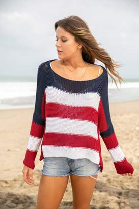 Wooden Ships Flag Sweater