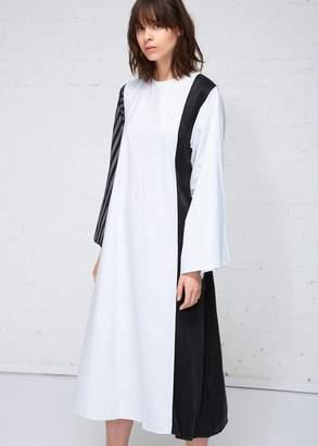MM6 MAISON MARGIELA Cotton Stripe Shirt Dress