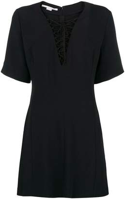 Stella McCartney lace-up mini dress