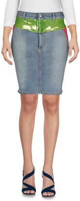 Jeremy Scott Denim skirts
