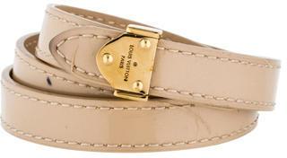 Louis Vuitton Box It Bracelet $225 thestylecure.com