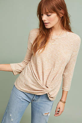 Anthropologie Chauncey Twisted Pullover