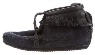 Rag & Bone Suede Moccasin Booties