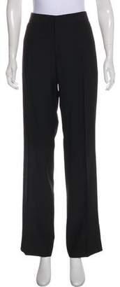 Jean Paul Gaultier Virgin Wool-Blend High-Rise Pants