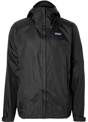 Patagonia Torrentshell Waterproof H2no Performance Standard Ripstop Hooded Jacket