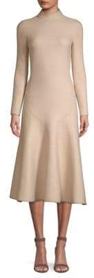 Agnona Wool Flare Hem Dress
