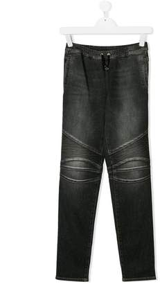 Balmain Kids TEEN skinny fit jeans