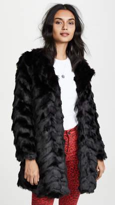 BB Dakota Its All Happening Fur Coat