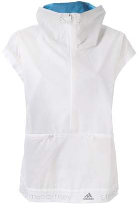 adidas by Stella McCartney cap sleeve lightweight jacket
