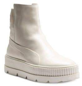 FENTY PUMA by Rihanna Leather Chelsea Sneaker Boots