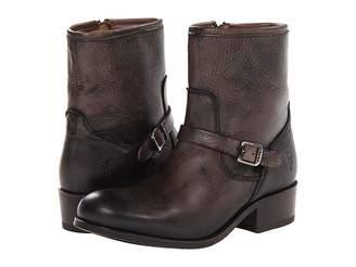Frye Lynn Strap Short Cowboy Boots