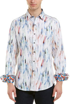 Robert Graham Boxwood Classic Fit Woven Shirt