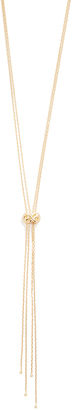 Jules Smith Cory Knot Necklace $85 thestylecure.com
