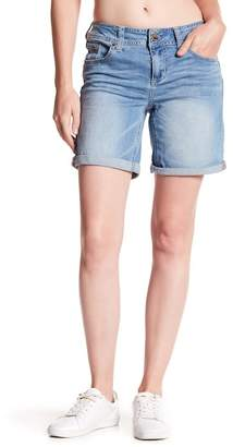 Seven7 Booty Shaper Rolled Bermuda Shorts