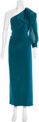 Marchesa Sleeveless Maxi Dress