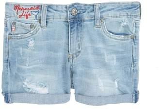 AG Jeans The Heather Denim Shorts (Big Girls)