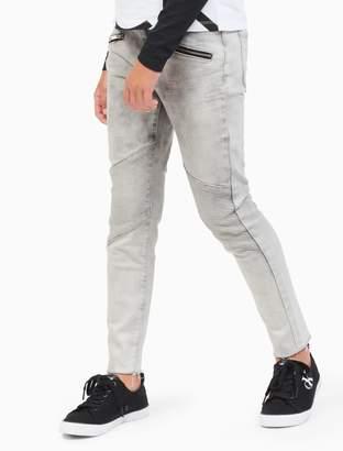 Calvin Klein girls ultimate skinny zip jeans