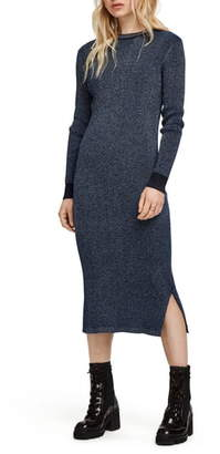 Scotch & Soda Glitter Crewneck Sweater Dress