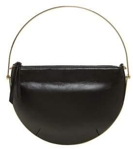 MANGO Metallic hoop bag