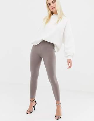 Asos Design DESIGN slinky deep waistband legging