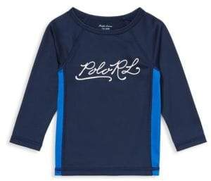 Ralph Lauren Baby Boy's Rashguard Swimwear Cover-Up Top