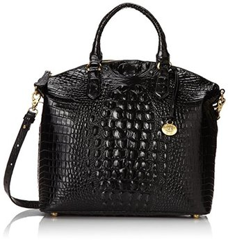 Brahmin Large Duxbury Satchel, Black, One Size $295 thestylecure.com