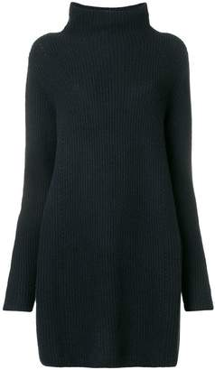 N.Peal ribbed knit sweater dress