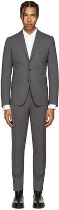 Dsquared2 Grey Wool Paris Suit $1,495 thestylecure.com